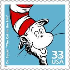 Cat in the Hat Stamp