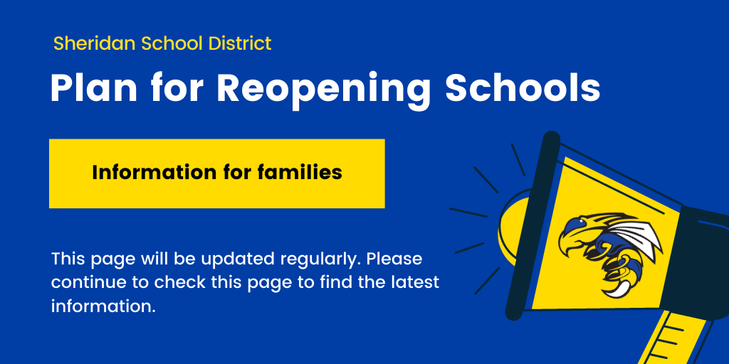 Image that says Plan for Reopening Schools