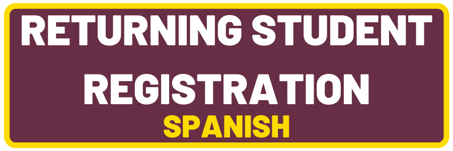 Returning Student Registration (Spanish)