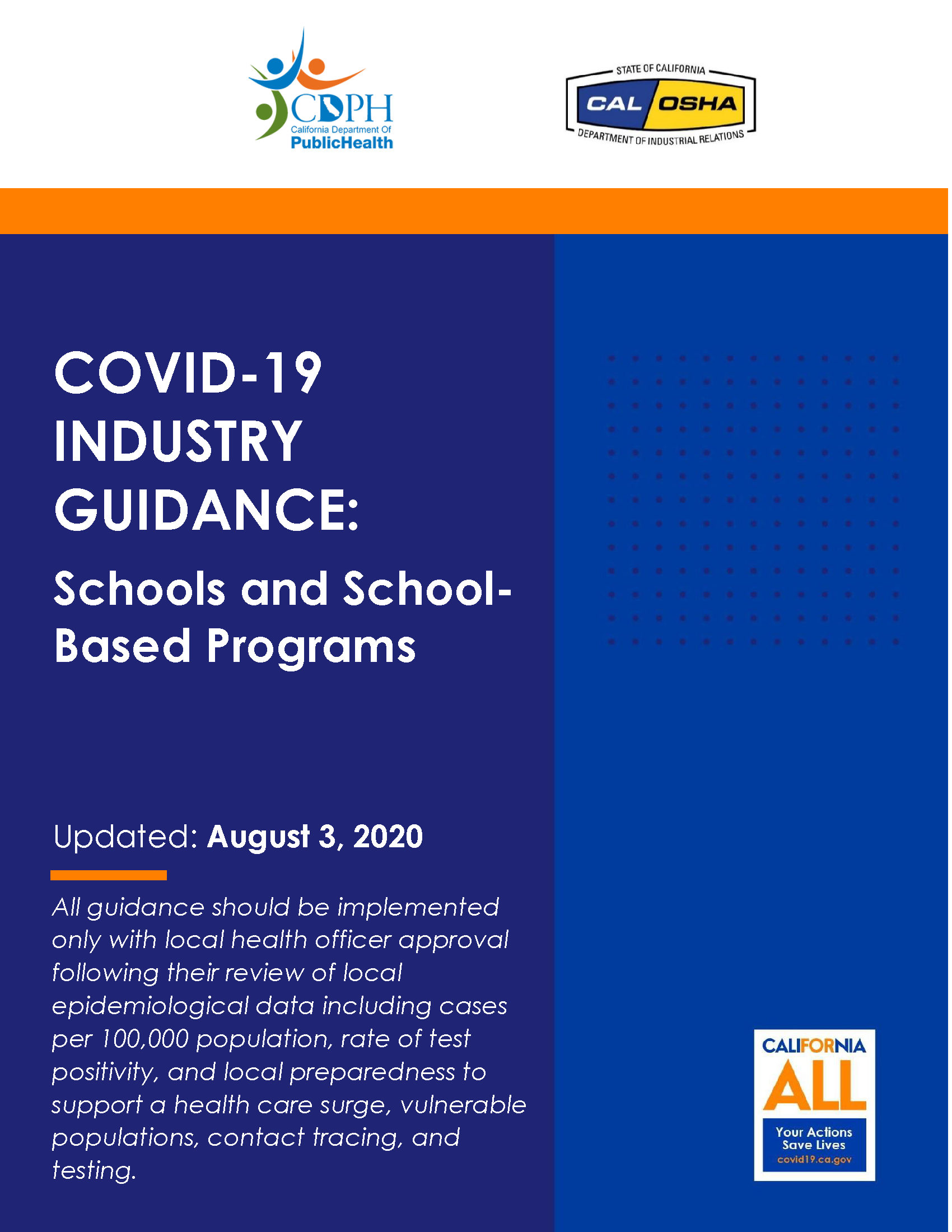 COVID-19 Industry Guidance PDF