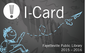 I-card Fayetteville Public Library
