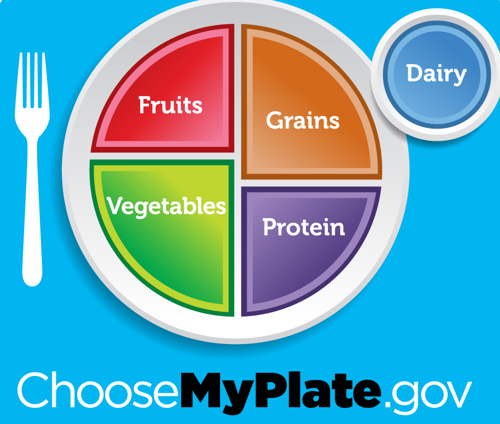 Choose My Plate.Gov Logo Link