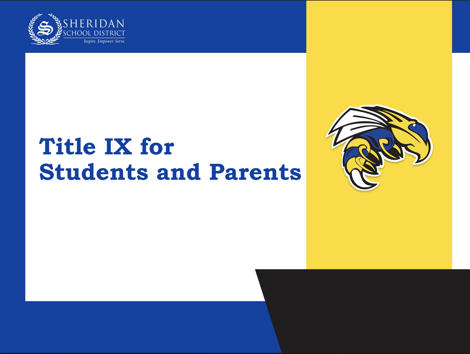 Title IX for Parents and Students