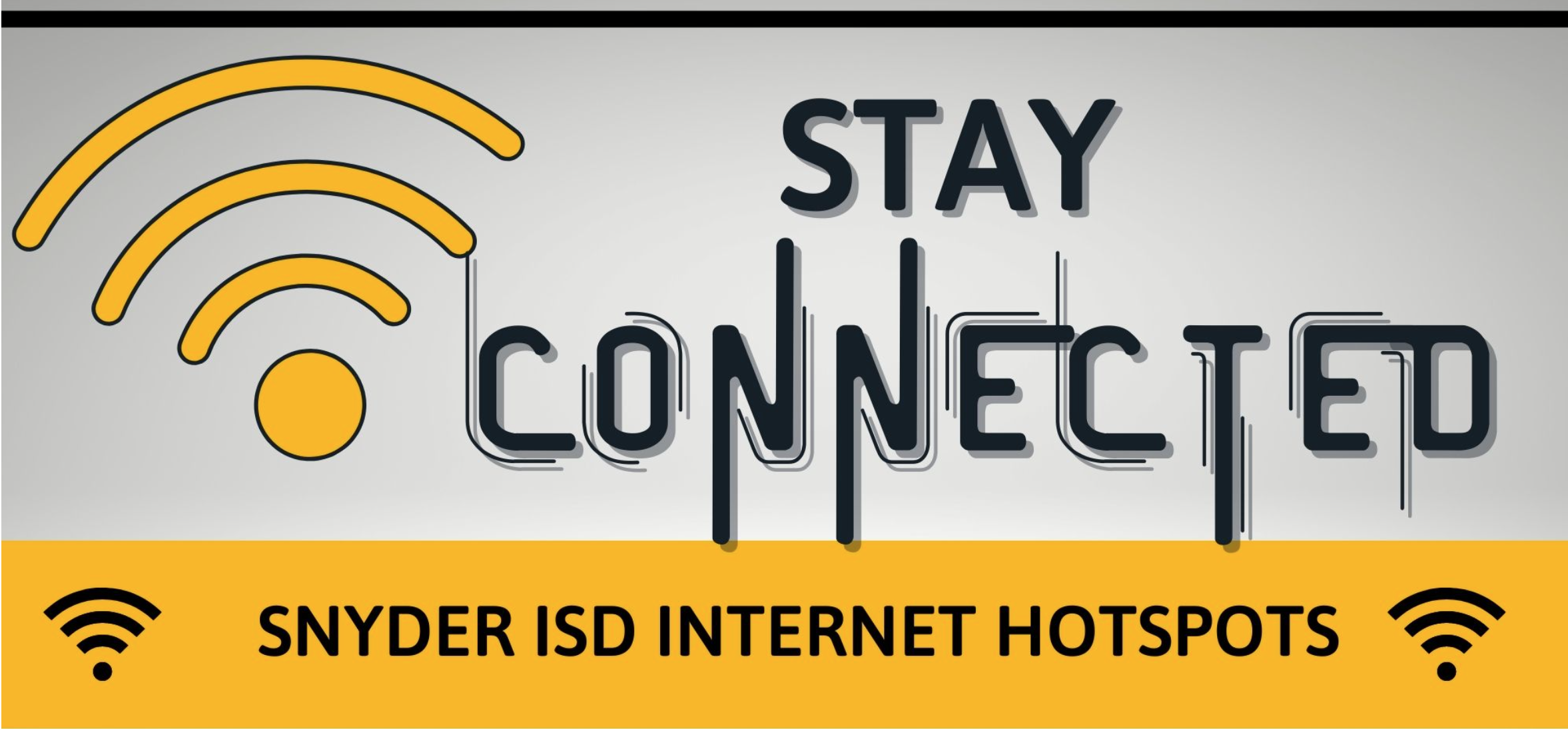 Stay Connected Snyder ISD WIFI Hotspots