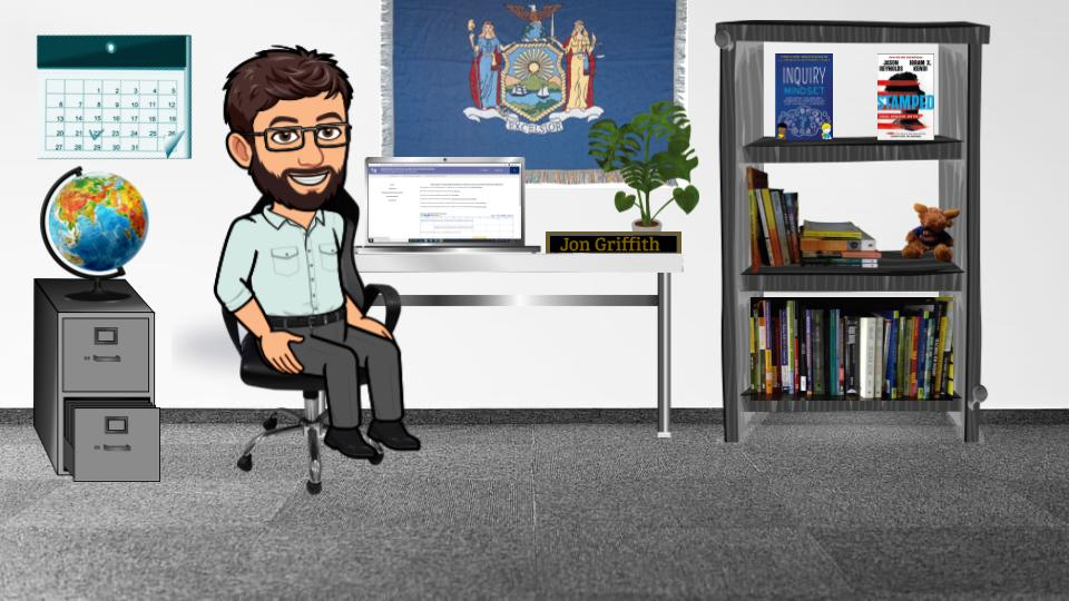 Image of Jon Griffith's virtual office