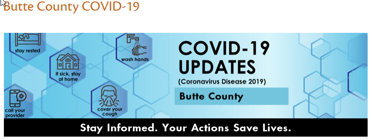 Butte County COVID-19 Updates
