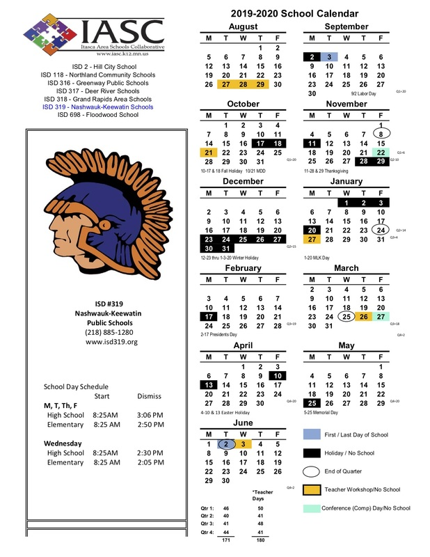Kennewick School District Calendar.Nashwauk Keewatin